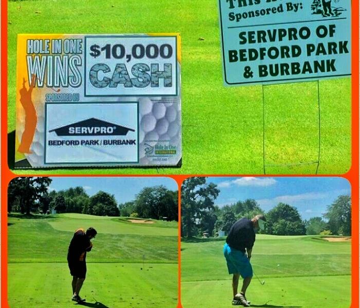 SERVPRO of Bedford Park / Burbank hosting a hole in one contest