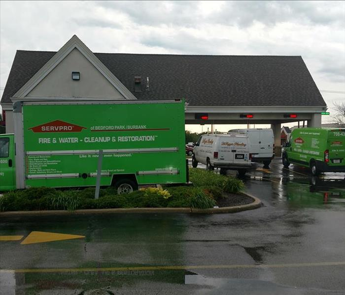 SERVPRO of Bedford Park/Burbank can handle any size job!