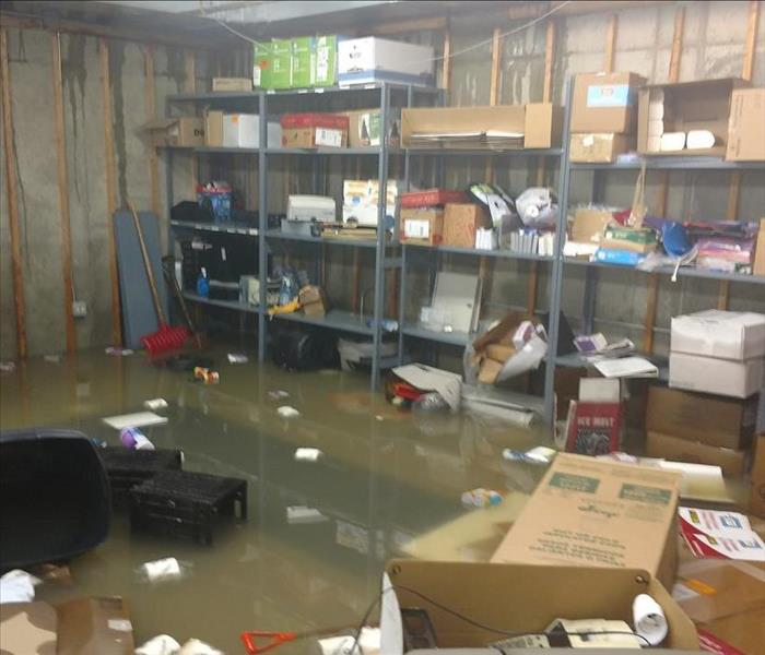 Commercial Bank's in the Waukegan, IL area extremely affected with water damage.
