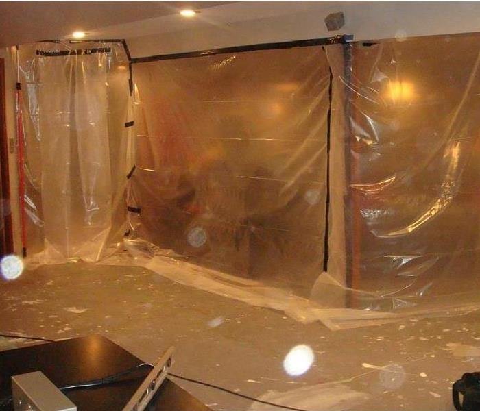 Mold Remediation Using containment when battling mold